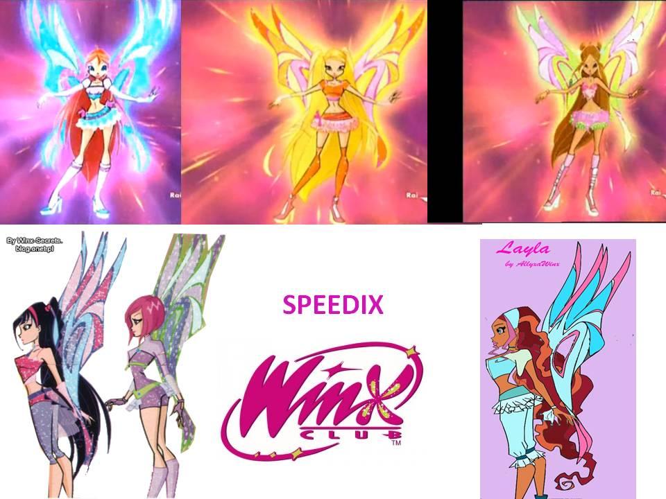 Winx Club Speedix Zoomix Tracix Speedix  Zoomix  Tracix